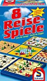 Schmidt Spiele 49102 - 8 Reise-Spiele, Spielesammlung, magnetisch, bunt