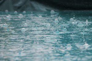 Schlechtes Wetter in Dänemark